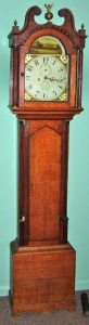 English or Scottish Tall Case Clock, early 1800's