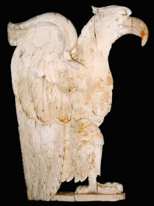 Pair of Carved Federal Eagles