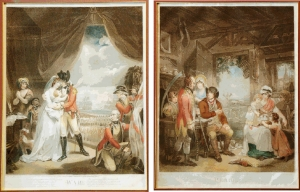 War and Peace: Important 18th C. Mezzotints