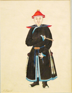 Chinese Watercolor:  A Student