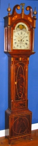 New Jersey Tall Case Clock, Isaac Brokaw, 1794