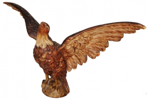 American Eagle Carving