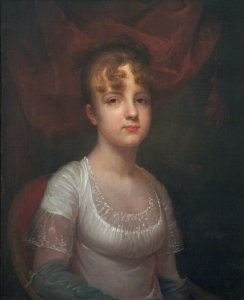 Rembrandt Peale:  Portrait of Elizabeth Breese Hazard