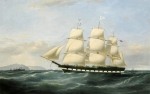 "Samuel Walters, Portrait of the Merchant Line Packet ""Vanguard"""