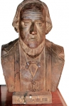 Carved Bust of a Sea Captain