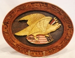 Chinese Export Eagle Plaque